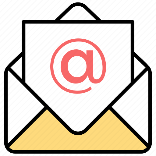 Content curation, digital marketing, email marketing, mail advertising, marketing correspondence icon - Download on Iconfinder