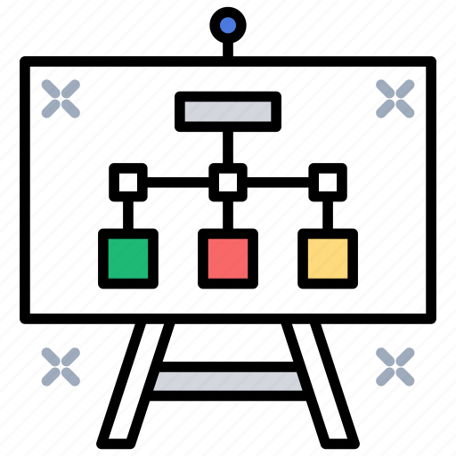 Planning, project hierarchy, project plan, scheming, strategy icon - Download on Iconfinder