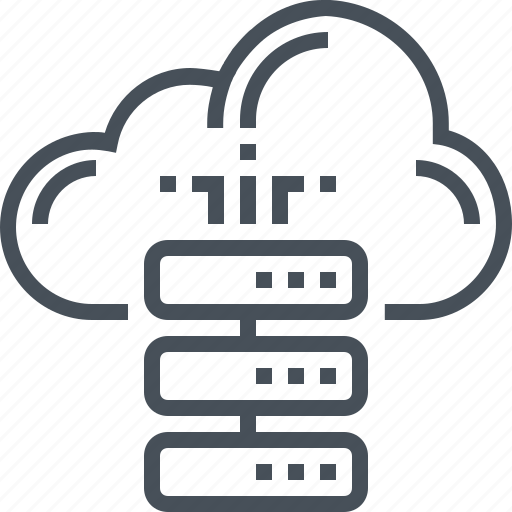 cloud, connect, connection, data, database, file, synchronization icon