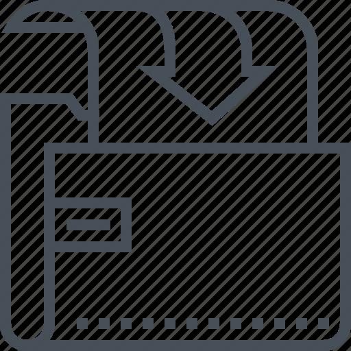 arrow, download, file, files, folder, upload, website icon