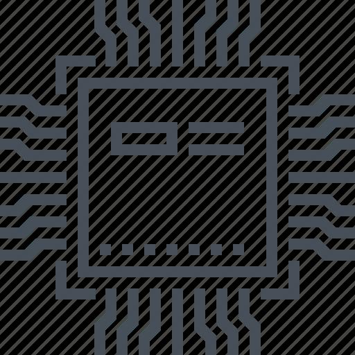calculate, computer, cpu icon, hardware, microchip, processor, technology icon