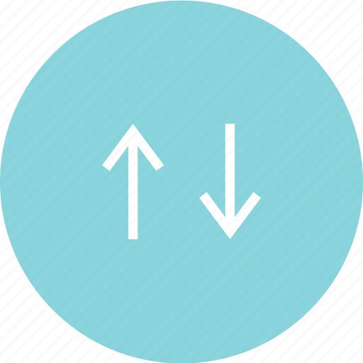 arrow, connect, down, up icon