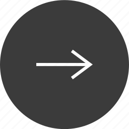arrow, forward, go, next, right icon