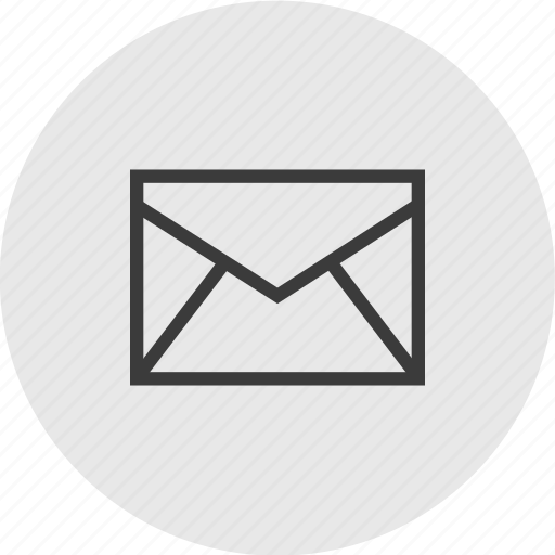 circle, email, envelope, mail, send icon