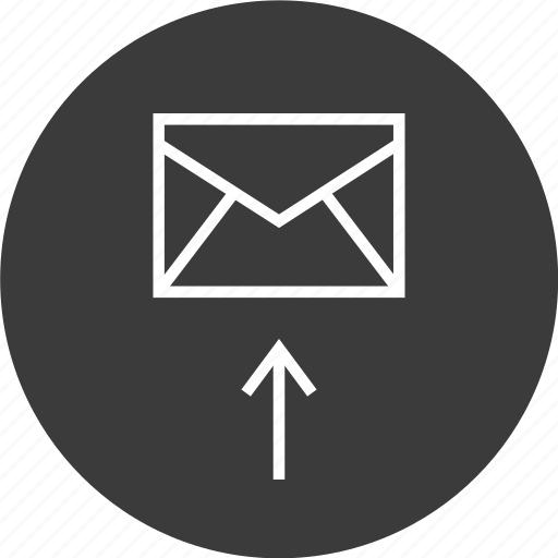 email, mail, message, send icon