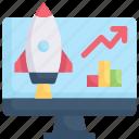 computer, growth, internet marketing, progress, statistic