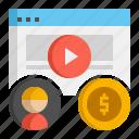 cpa, cost per acquisition, digital marketing icon