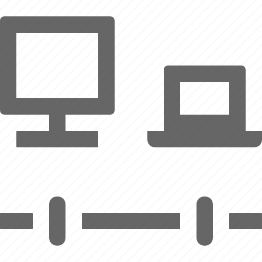 connection, internet, notebook icon