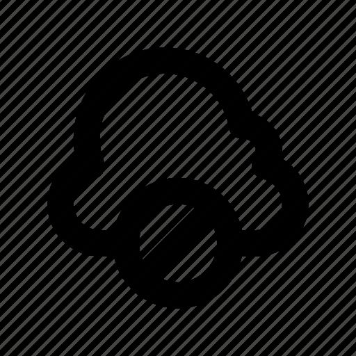 block storage, cloud blocked, cloud computing, data blocking, storage cloud icon