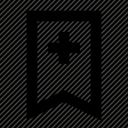 bookmark, bookmarking, ribbon, service, website icon