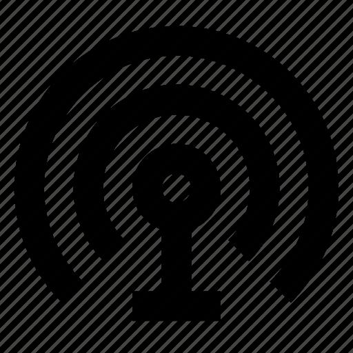 antenna, communication, signal, tower, wifi, wireless icon