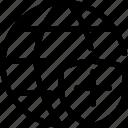 cross, internet, network, plus, server, shield, web icon