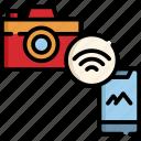 camera, internet, wireless, cloud, online, photo