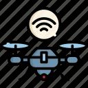 drone, internet, wireless, cloud, online