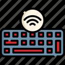 keyboard, internet, wireless, cloud, online