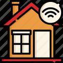 smart, home, internet, wireless, cloud, online, house