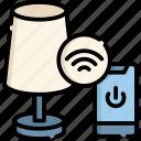 smart, light, internet, wireless, cloud, online, lamp