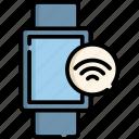 smart, watch, internet, wireless, cloud, online, time