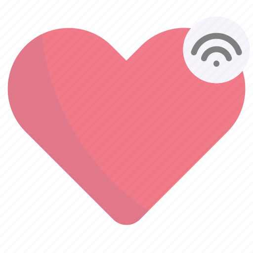 Heart, love, like, internet of things, iot icon - Download on Iconfinder