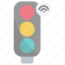 traffic lights, traffic, road, internet of things, iot