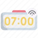 clock, time, watch, alarm, internet of things, iot