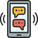 chat, social, network, conversation, communication, message, talk