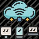 cloud, server, hosting, isp, device, internet, backup