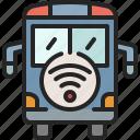 smart, bus, car, vehicle, public, automobile, transport