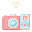 camera, communication, internet, network, photography, wifi
