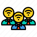 administrator, communication, connection, wifi, wireless