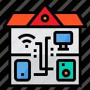 communication, home, smart, technology, wifi