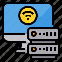 computer, connection, internet, server, storage