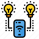 connection, control, electronics, light, remote, smartphone