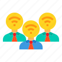 administrator, communication, connection, wifi, wireless icon