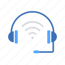 headphone, helpdesk, internet, internet of things, iot, wifi, wireless headset