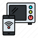 microwave, wireless, connectivity, mobile, smartphone, device