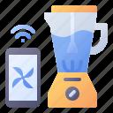 blender, smart, setting, mixer, appliance