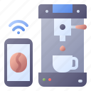smart, coffee, machine, appliance, maker