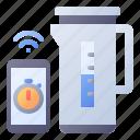 kettle, smart, pot, timer, appliance