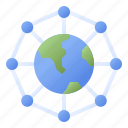 network, connection, internet, world, global
