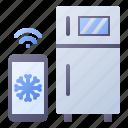 refrigerator, smart, temperature, freezer, cooler