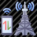 tower, antenna, traffic, radio, communication