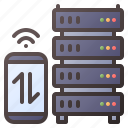 server, traffic, hosting, stacked, cloud