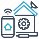 home, automation, setting, smart, house