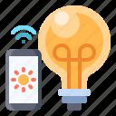 light, bulb, control, lamp, smart, power