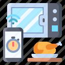 microwave, smart, chicken, timer, turkey