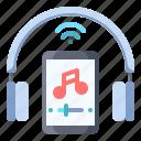 music, streaming, headphone, online, listen