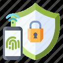 security, secure, protection, smart, fingerprint, scan