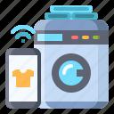 washing, machine, smart, clothing, appliance