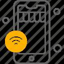 internet, wifi, phone, things